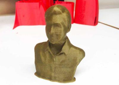 Bronze Fill PLA Filament