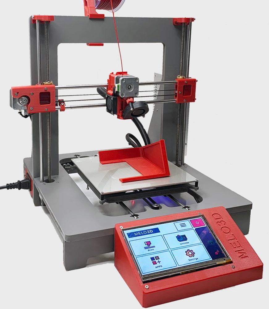 Melo3D: Premium 3D Printer + Custom Make & Design Services