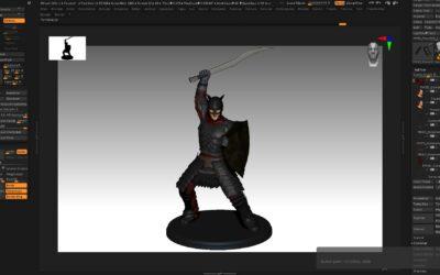 Orc 3D Modeling – 3D Video Render