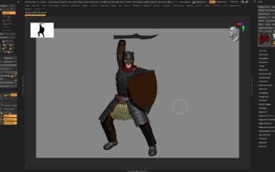Orc 3D Modeling – Process Photos