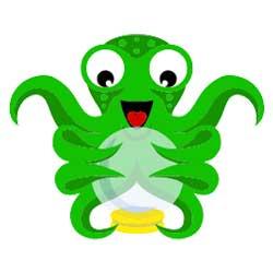 Octoprint Logo Melo3D