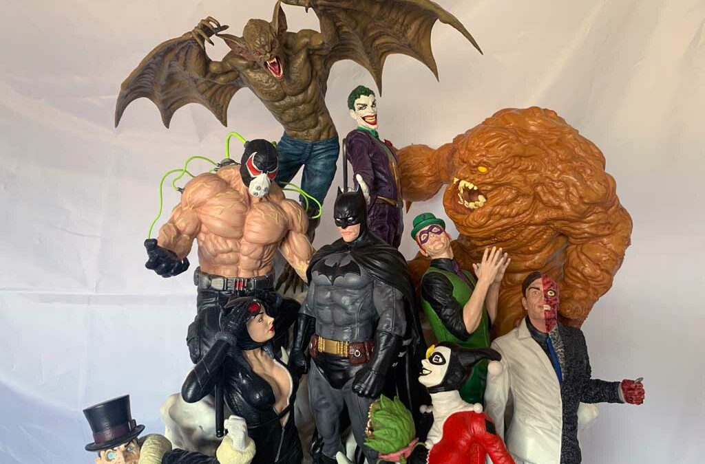 Batman Sanity Diorama: Professionally Finished 3D Print Pictures