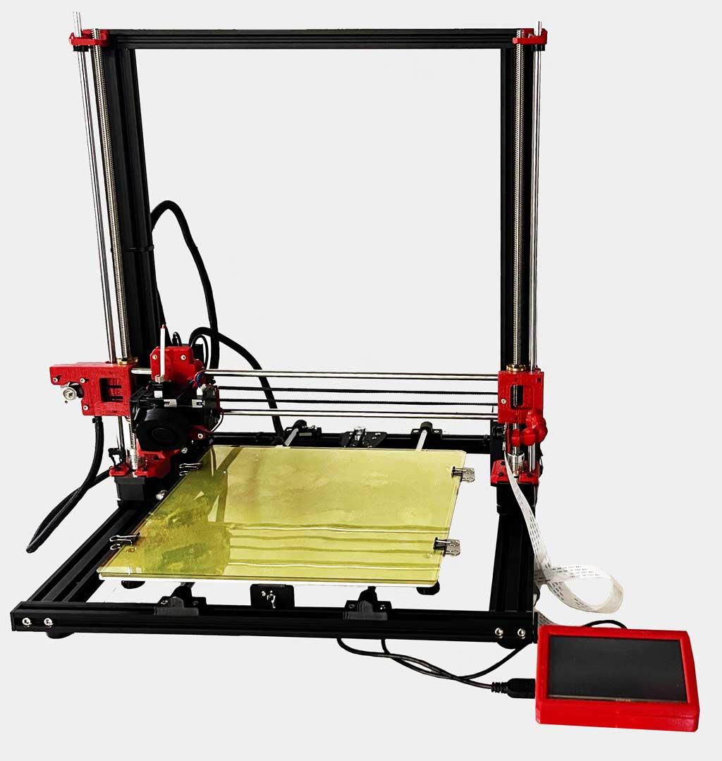 Melo3D - Custom 3D Printer with AI