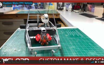 Custom Fabrication: DJI FPV Unit; Pan and Tilt; Steering Wheel Video