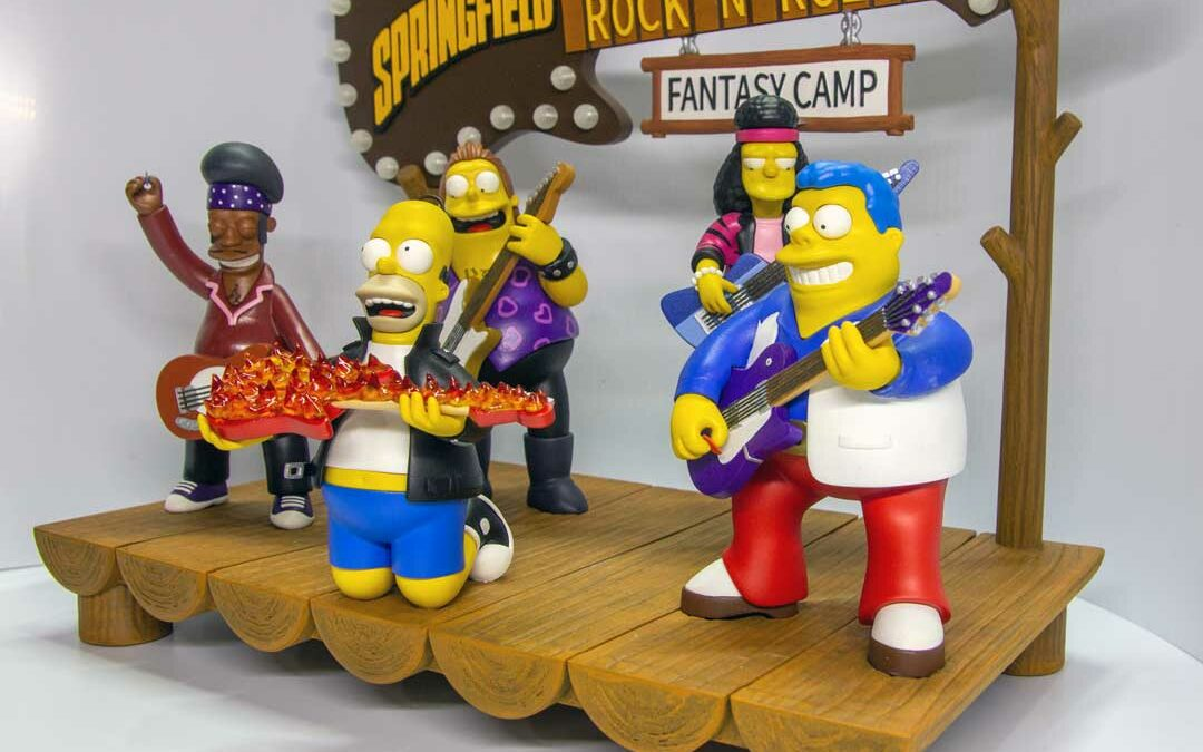 Springfield Rock n' Roll Fantasy Camp – Digital Download for 3D Printing